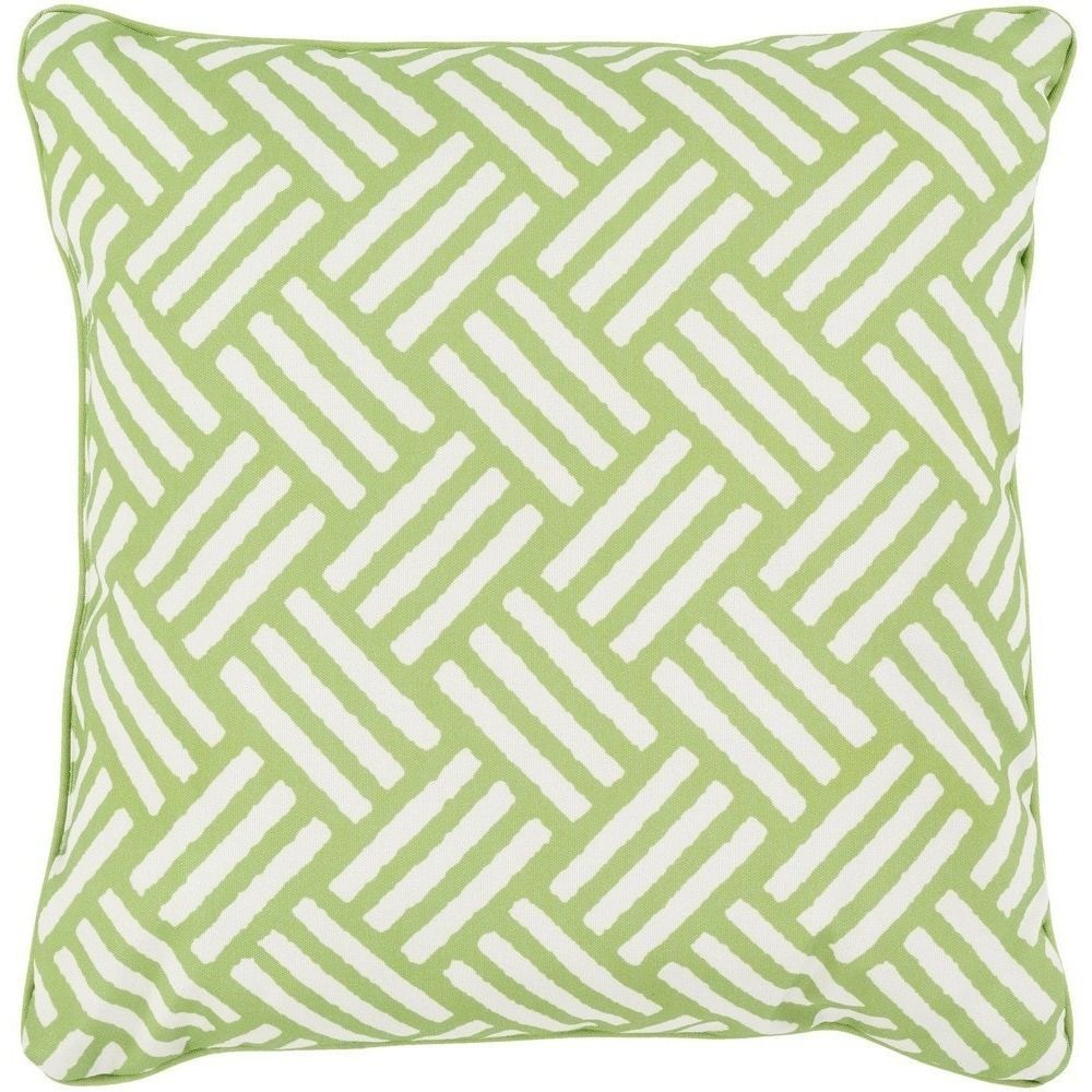 Hatch modern lime green outdoor pillow products modern and limes