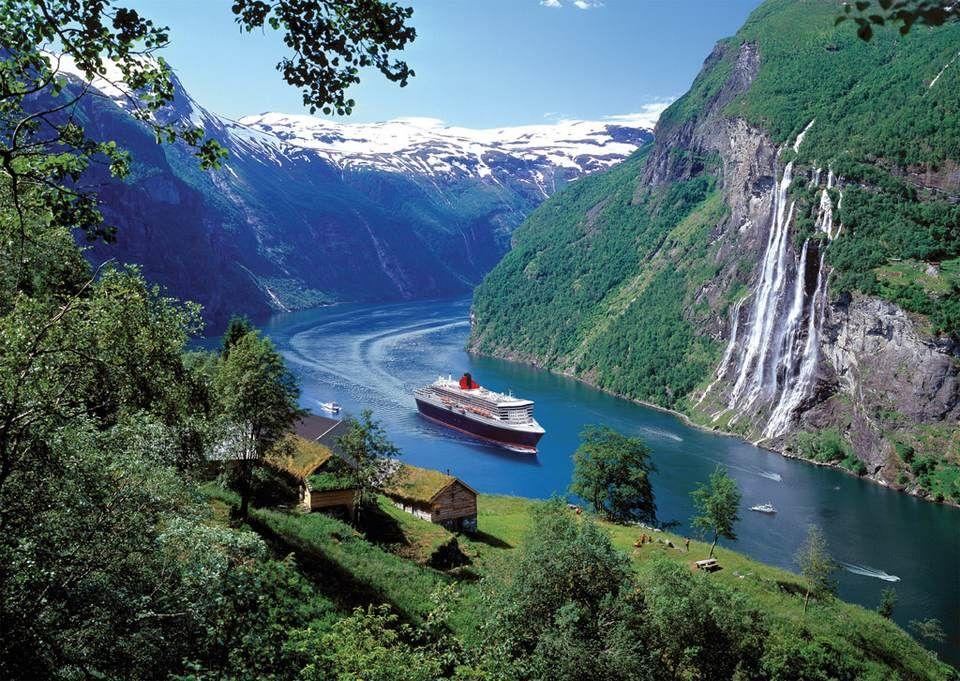 Cruising Through The Norwegian Fjords Norway Fjords Holidays In Norway Fjord Cruises