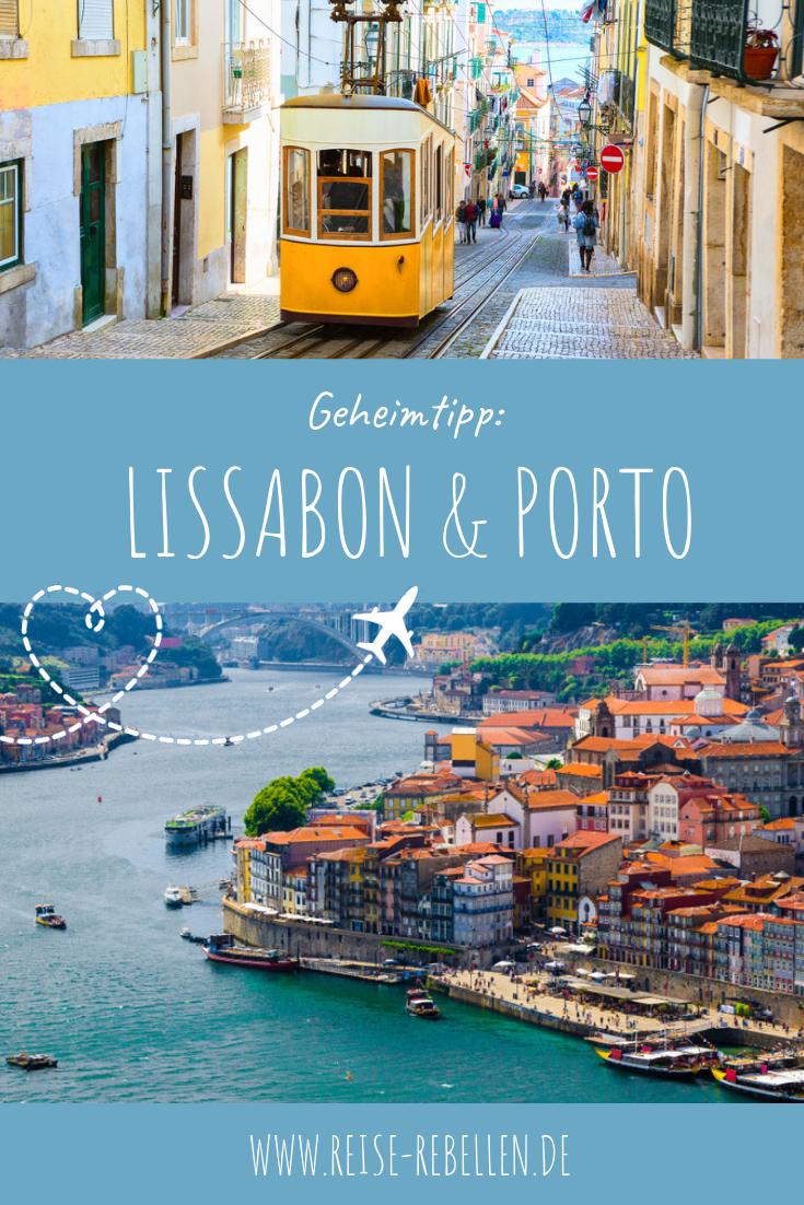 Geheimtipp: Lissabon & Porto #bestplacesinportugal