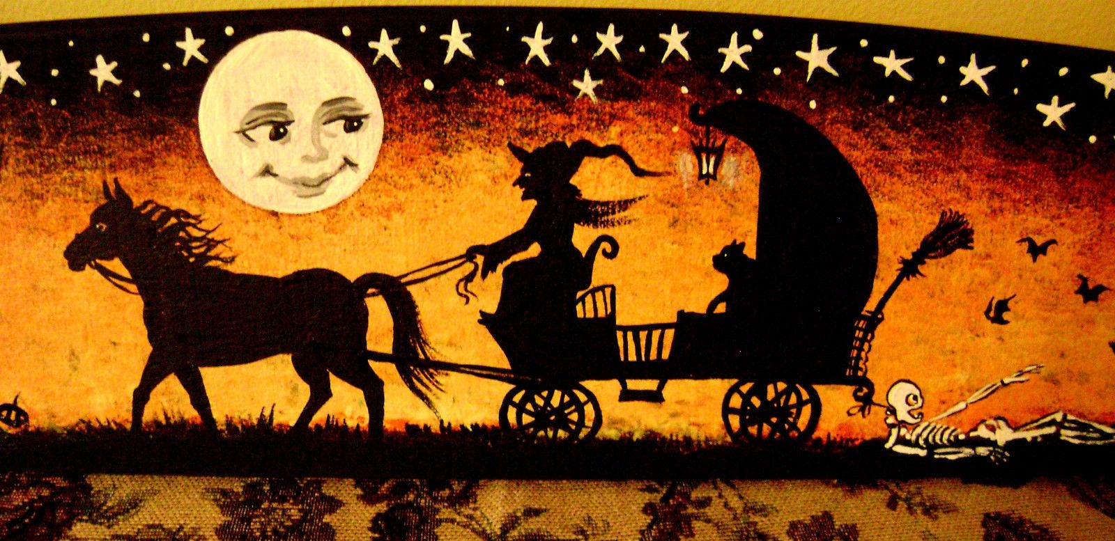 809639010 Vintage Halloween Wallpaper4 Jpg 1600 777 Vintage Halloween Art Halloween Desktop Wallpaper Halloween Wallpaper