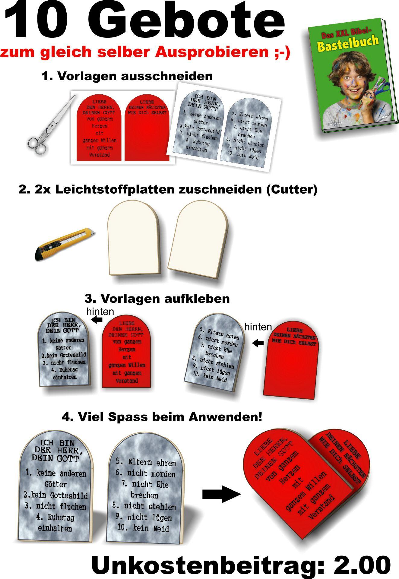 Großartig Zehn Gebote Tabletten Vorlage Ideen - Entry Level Resume ...