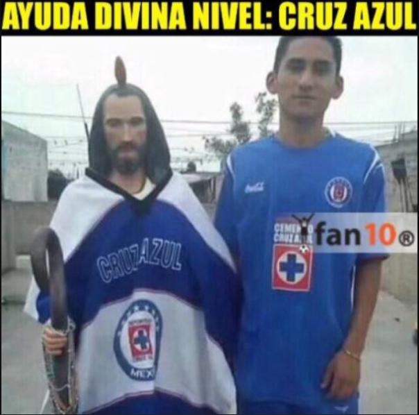 Memes llegaron más rápido que gol de Cruz Azul ante