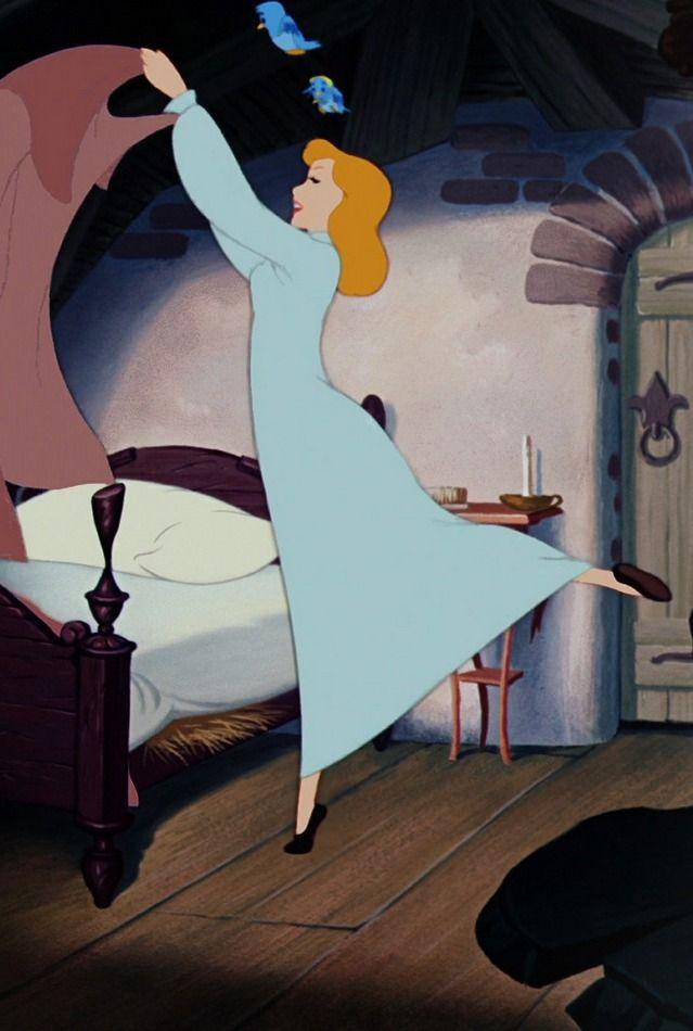 Best Cinderella Making Her Bed I Need Her Kind Of Motivation 400 x 300