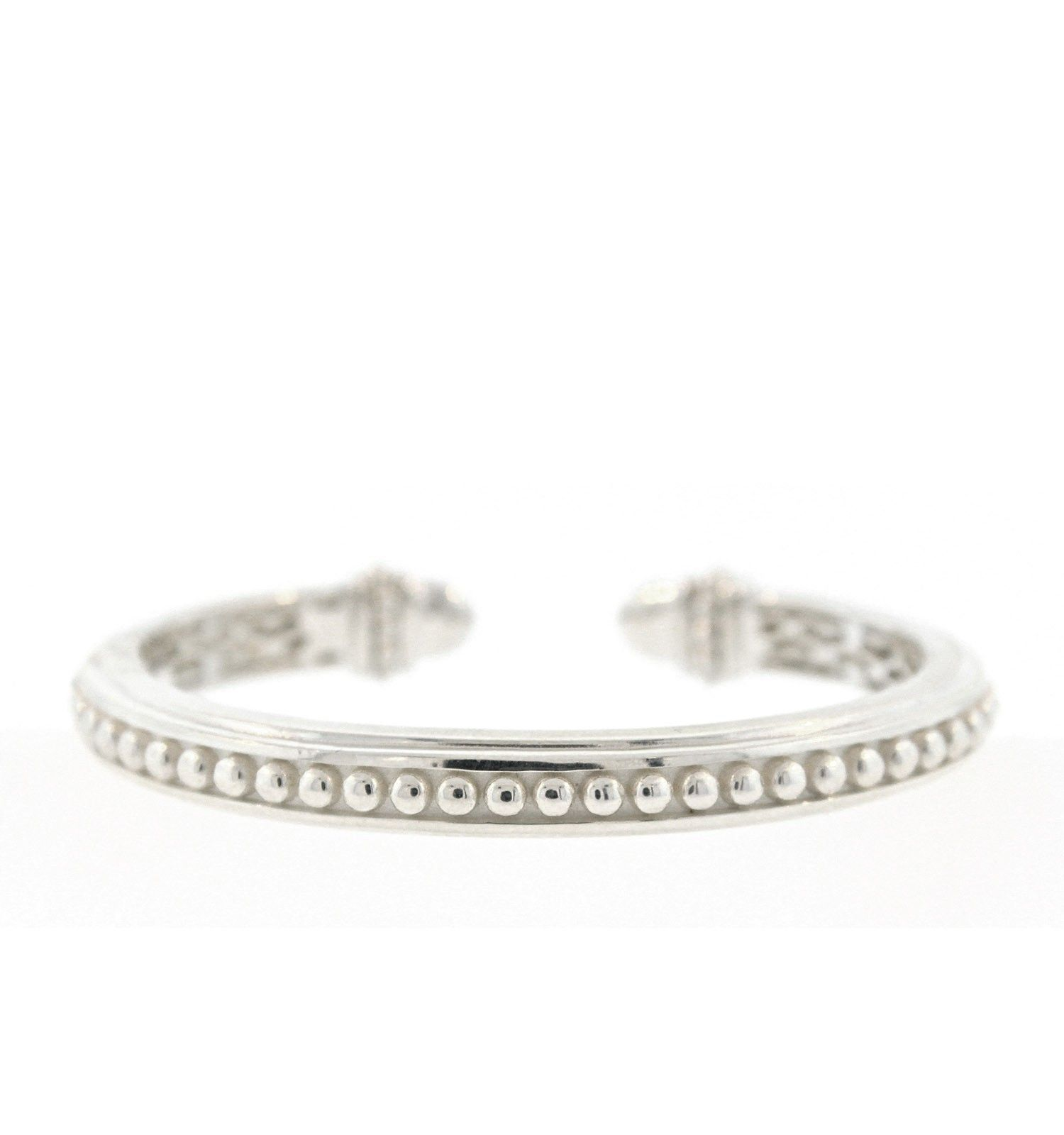 gaamaa silver bracelet open sterling product cuff bangle by notonthehighstreet leaf bangles com original
