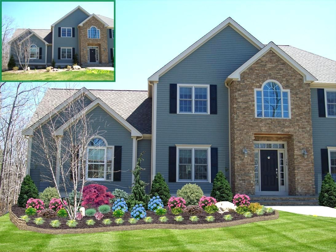 Stunning Front Yard Landscape Ideas Midwest Pictures Inspiration