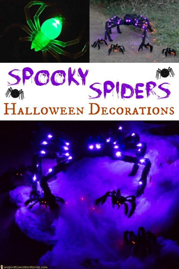 Spooky Spiders Halloween Decorations Inspiration Laboratories by - spiders for halloween decorations