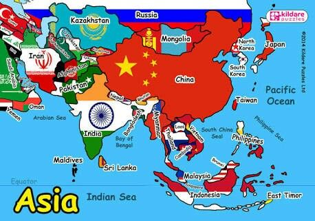 ASIA BIGGEST CONTINENT OF THE WORLD Wwwworldtouraddablogspot - What is the biggest continent