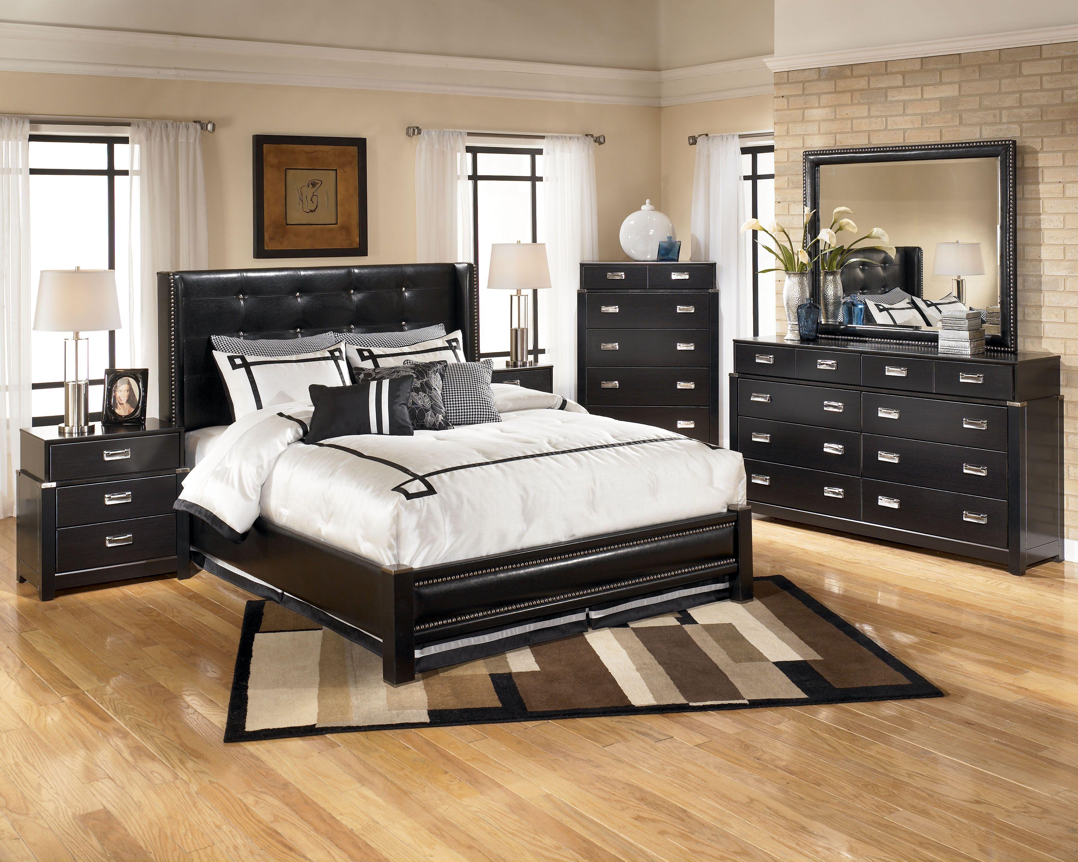 Black Contemporary Bedroom Set Fascinating Love The Espresso Finish On This #contemporary Ashley Furniture Design Decoration