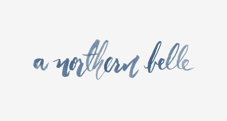 Hannah Rose Beasley   Blog » A Northern Belle / Blog Design