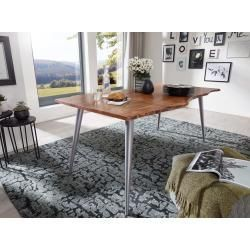 Tree table Surat 180x90cm acacia & iron aluminum colored main furniture#180x90cm #acacia #aluminum #colored #furniture #iron #main #surat #table #tree