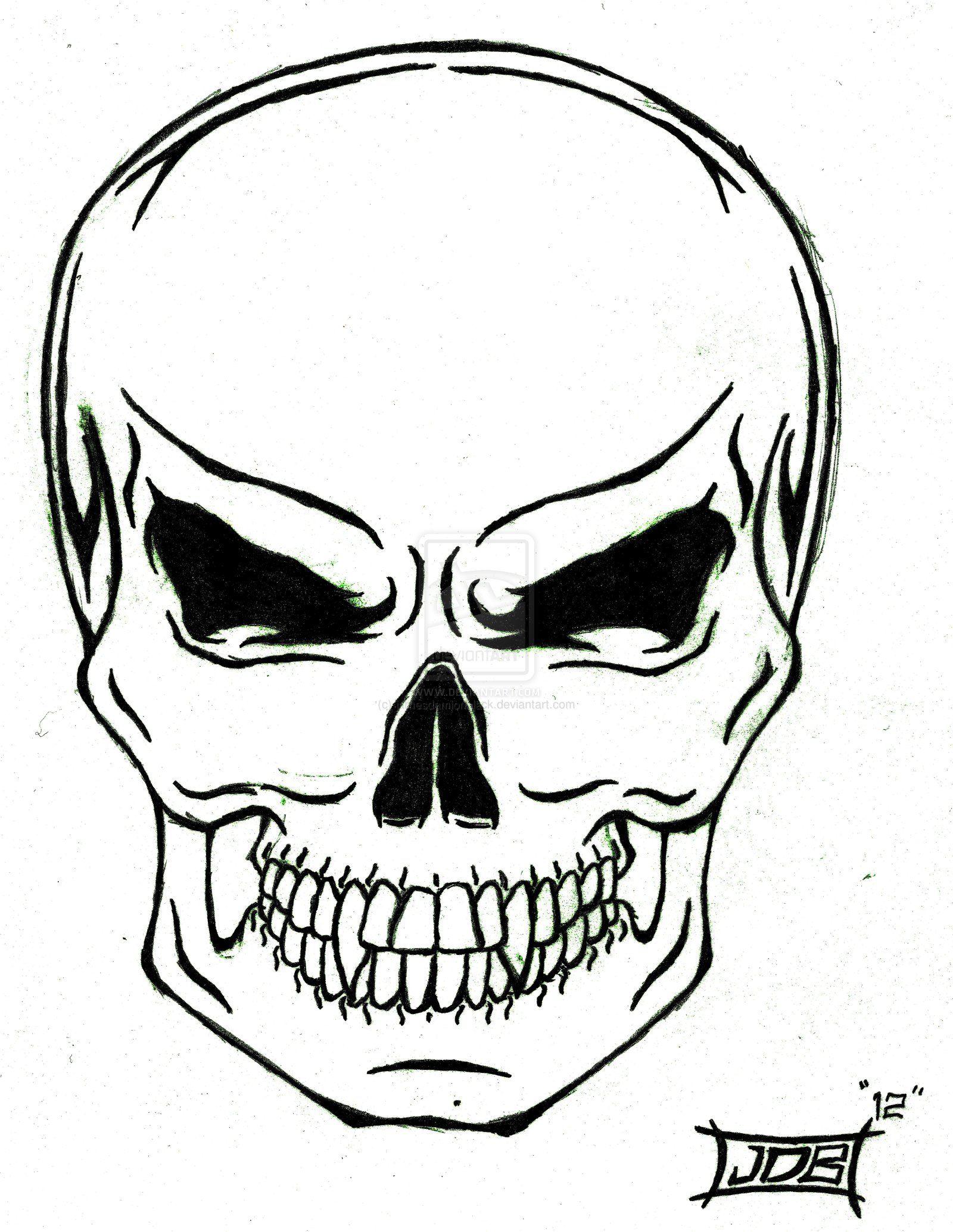 Tribal Skull Tattoo Desing Ideas 23340 Design Ideas Tattoosnet Simple Skull Tribal Skull Simple Skull Drawing