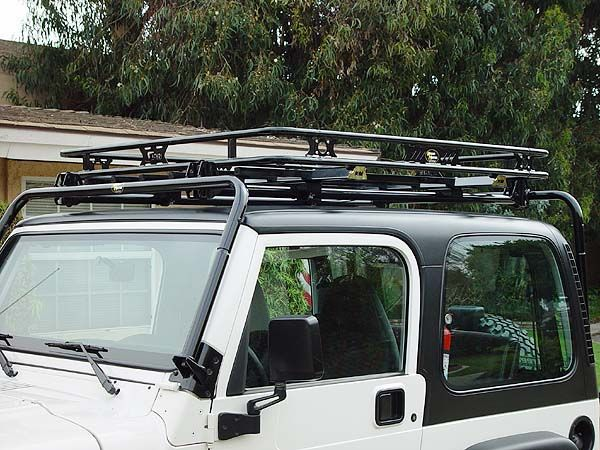 Kargo Master Congo Cage Jeep Roof Rack Roof Rack Jeep Yj Jeep Bumpers