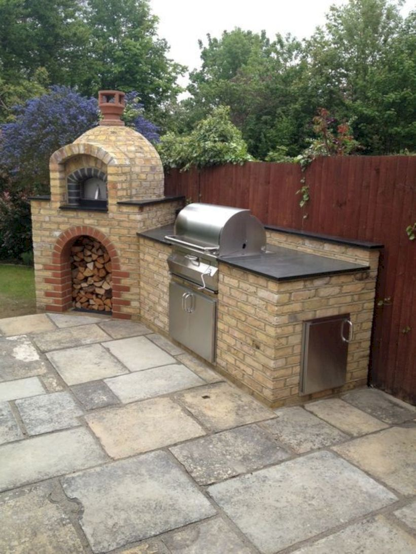 37 Popular Outdoor Kitchen Ideas And Design In 2019 Sooziq Com Pizza Oven Outdoor Kitchen Outdoor Kitchen Design Outdoor Kitchen