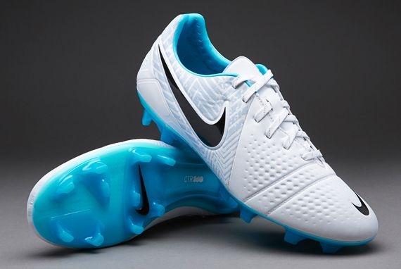 Nike Football Boots - Nike CTR360 Maestri III Reflective FG - Firm Ground -  Soccer Cleats - White-Gamma Blue 28589d9ac4fd6