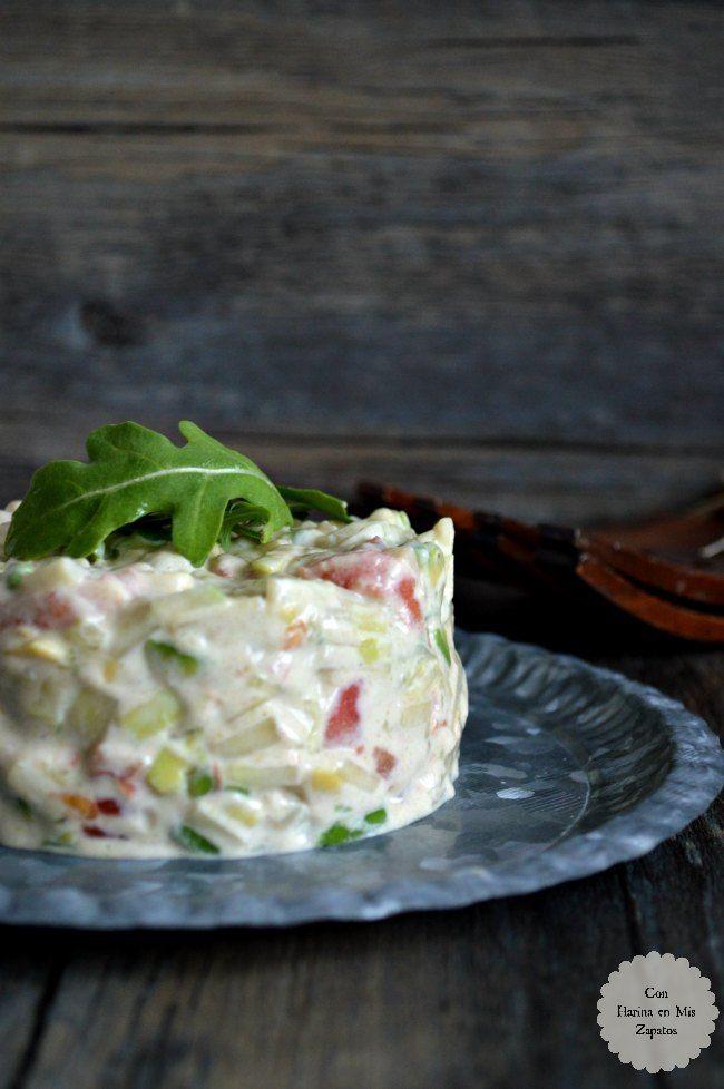 Tartar de pepino y aguacate cocina recetas ensaladas for Como se cocina la quinoa para ensalada