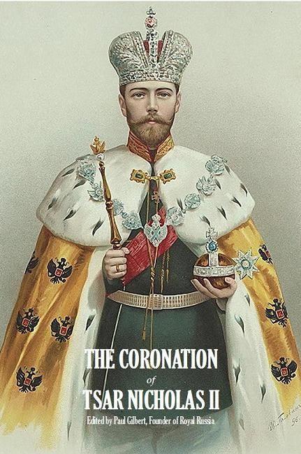 Tsar Nicholas II in his coronation robe.