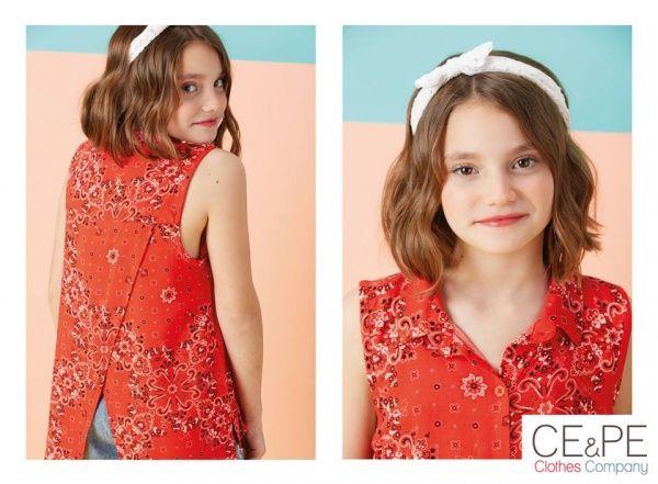 f7c4459ce remera estampada para nenas primavera verano 2017 – Ce Pe – MiniLook ...