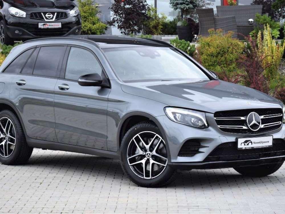 2018 Mercedes Benz Glc 250 4matic Suv 9g Tronic Amg Line 2x