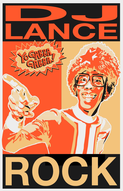 Dj Lance Rocks Yo Gabba Gabba Yo Gabba Gabba Dj Birthday Party Printables [ 1224 x 792 Pixel ]