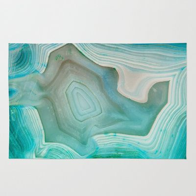 THE BEAUTY OF MINERALS 2 Area & Throw Rug