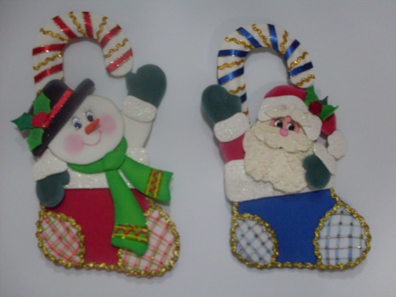 Navidad foami moldes imagui - Adornos navidenos de goma eva ...