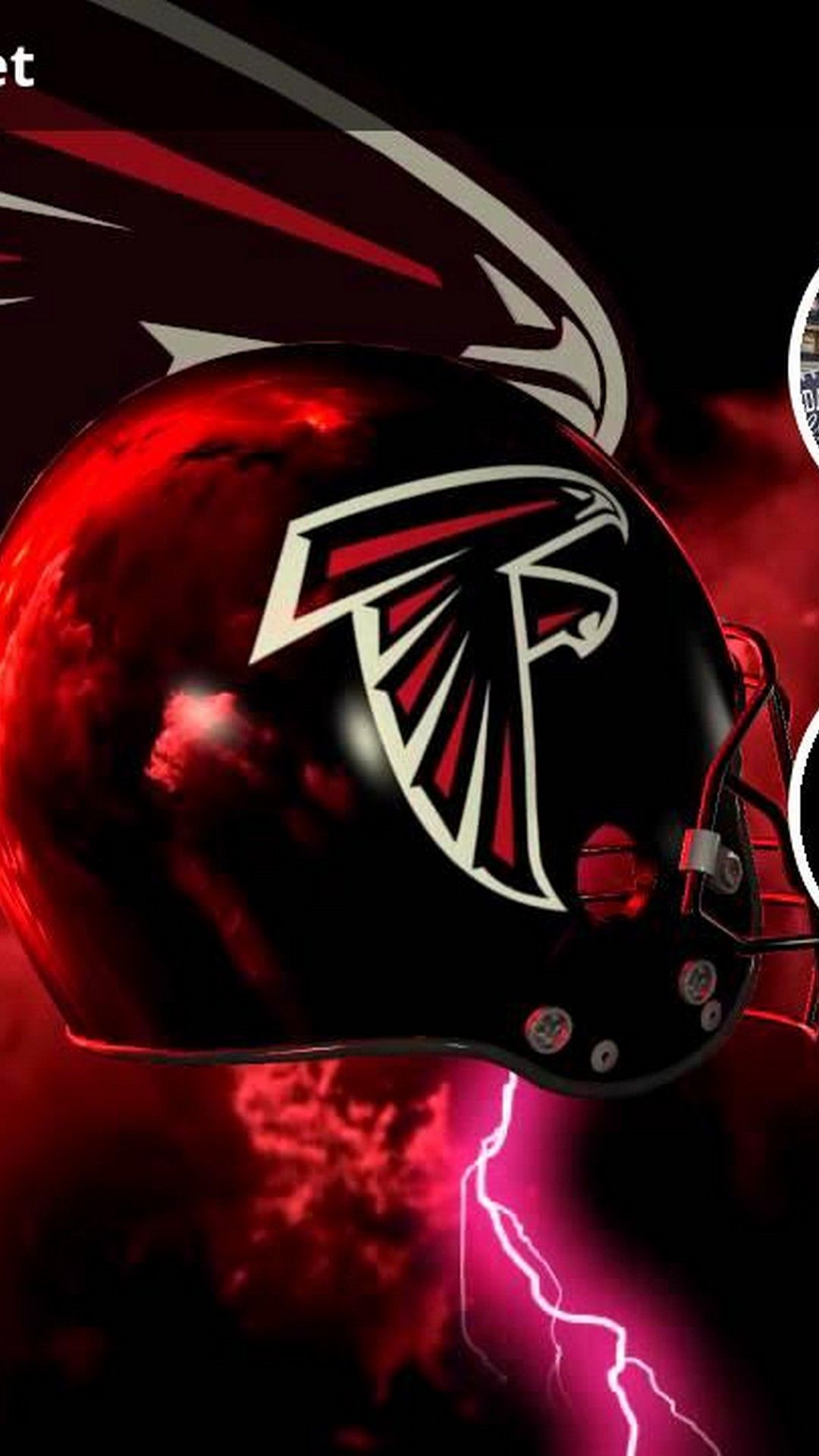 Atlanta Falcons Iphone 8 Plus Wallpaper Best Nfl Wallpaper Atlanta Falcons Futbol Americano Nfl Halcon