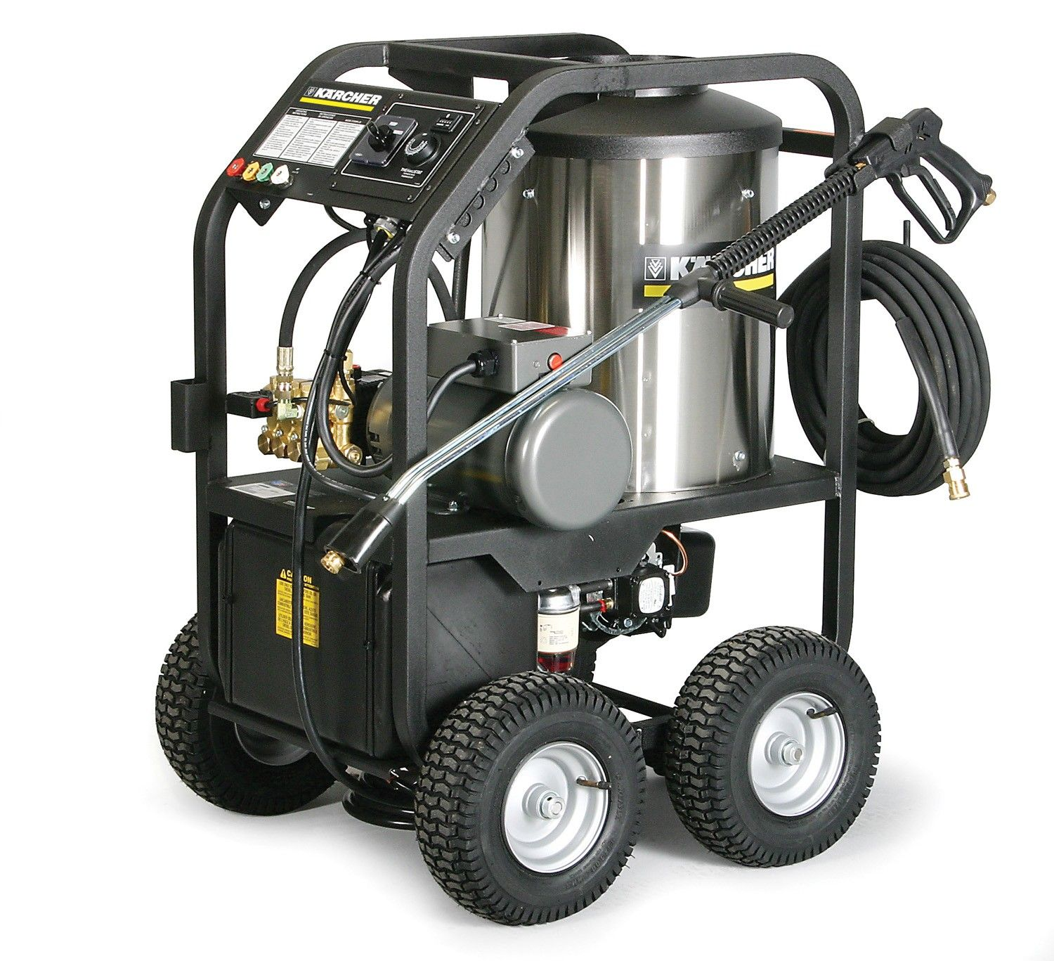 Karcher Liberty HDS Electric Powered Diesel Heated Cage