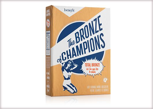 Benefit Cosmetics - the bronze of champions #benefitgals