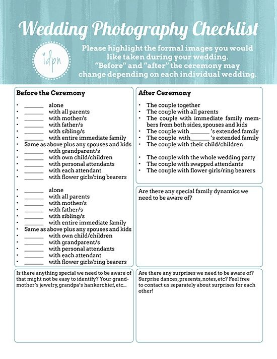 photo relating to Wedding Photography Checklist Printable identify Cost-free Printable- Affordable Wedding ceremony Pictures Checklists