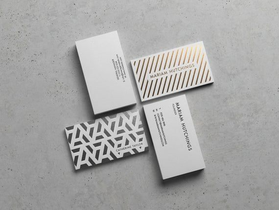 Matte Silver Foil Press On 400gsm Grey Card Biz Cards For The Styling Business Design By Clare Rich Mattesilver Silv Business Fashion Business Blog Cards