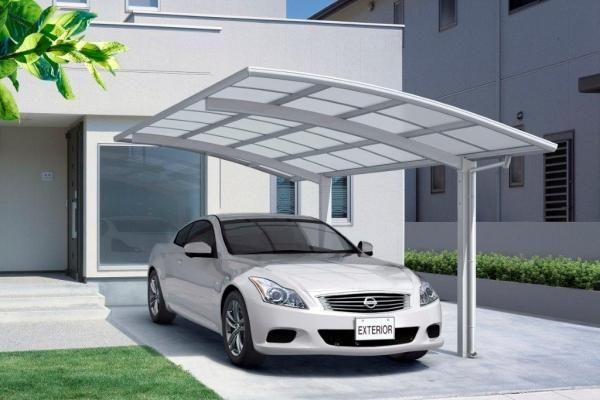 Single Carport Plans With Stylish Carport Kits Design