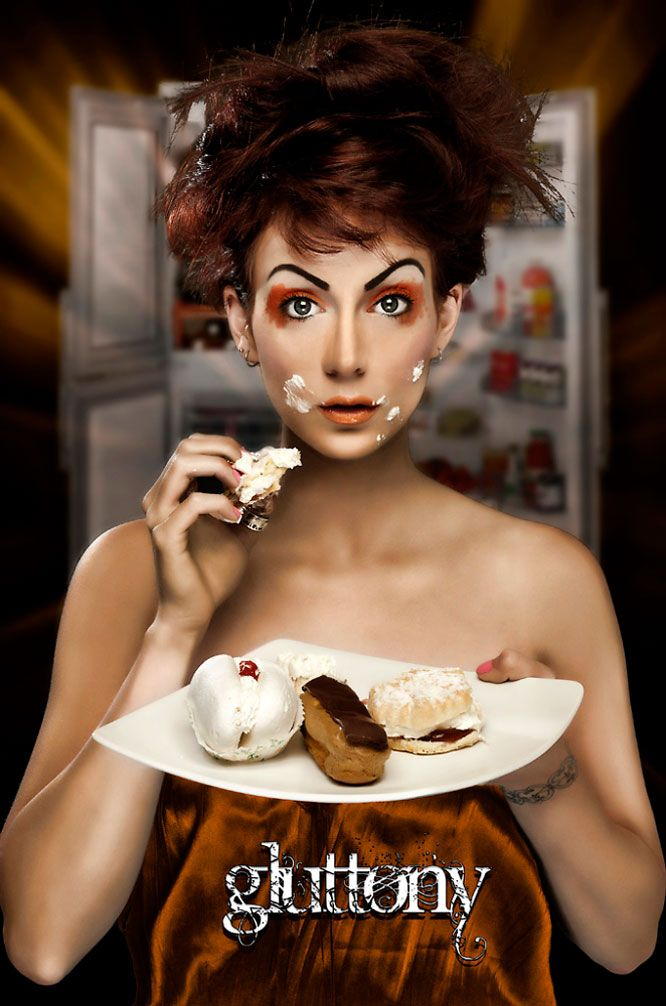 gluttony pose | sins project | pinterest