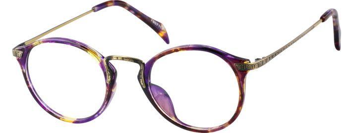 33e684b7863 Purple Round Eyeglasses  7807117