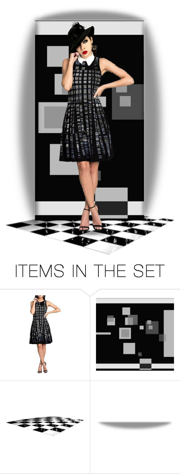 """""""Geo"""" by chileez ❤ liked on Polyvore featuring art"""