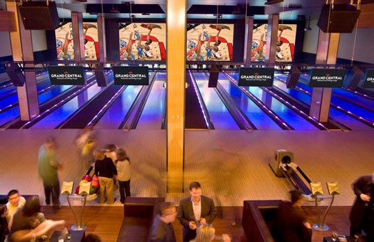Grand Central Restaurant and Bowling Lounge, Portland, Ore. (Courtesy of Concept Entertainment)