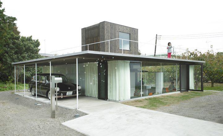 'Sunken House', Odawara,by Kazuhiro Kojima