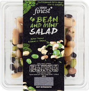 Tesco Finest Three Bean Salad 과일 가게 샐러드 야채
