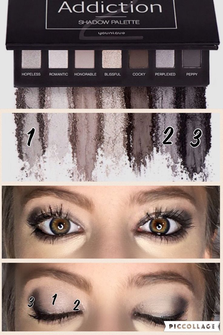 Best Ideas For Makeup Tutorials Picture Description Younique smokey eye  Addiction Palette 2. Makeup,