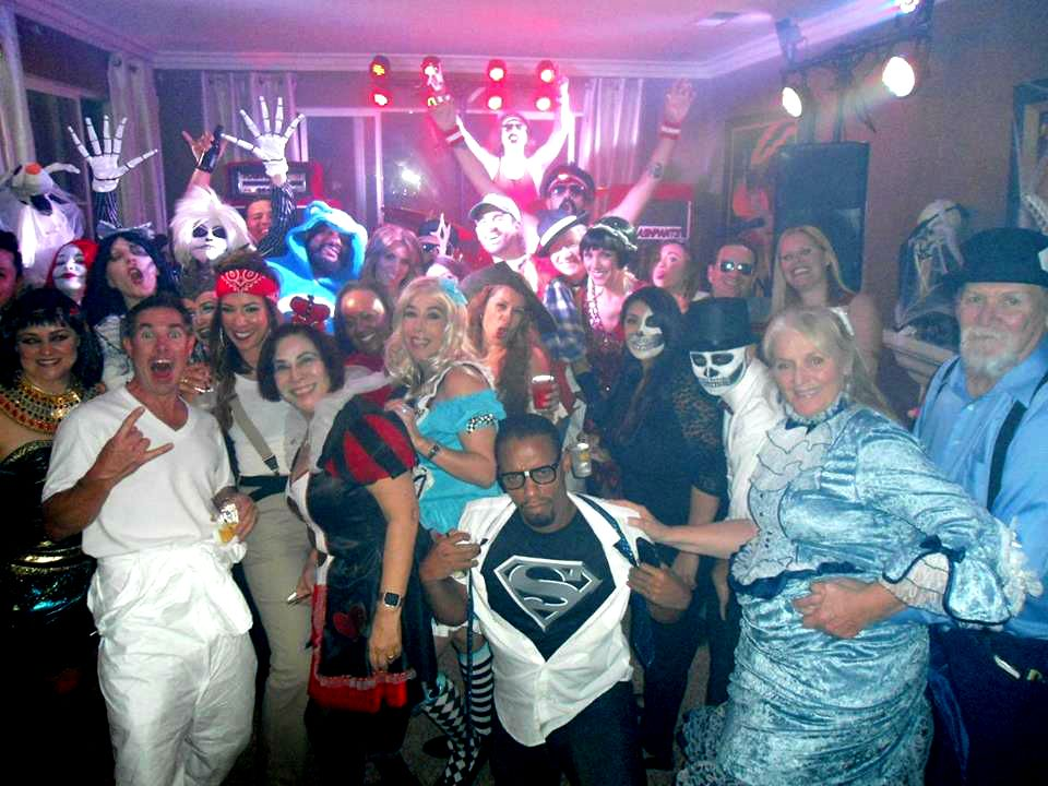 Best 80s Band performs for Halloween House Party in Orange