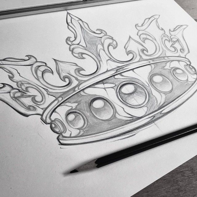 Needs some work! #sketch #king #crown #art #absorb81 #new ...