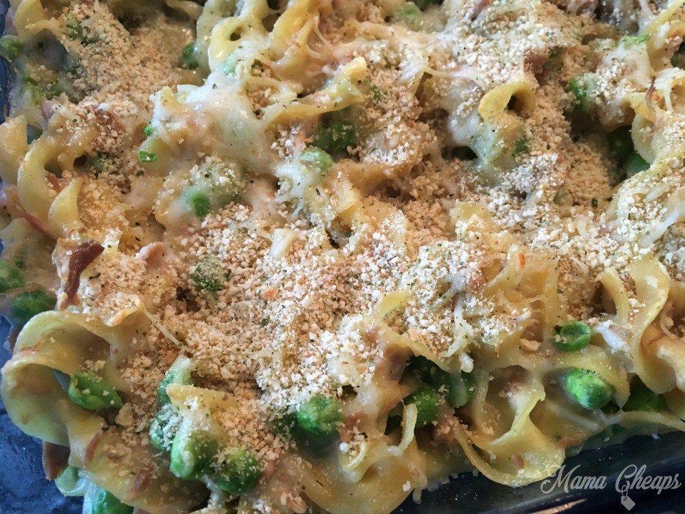 classic tuna noodle casserole recipe | noodle casserole