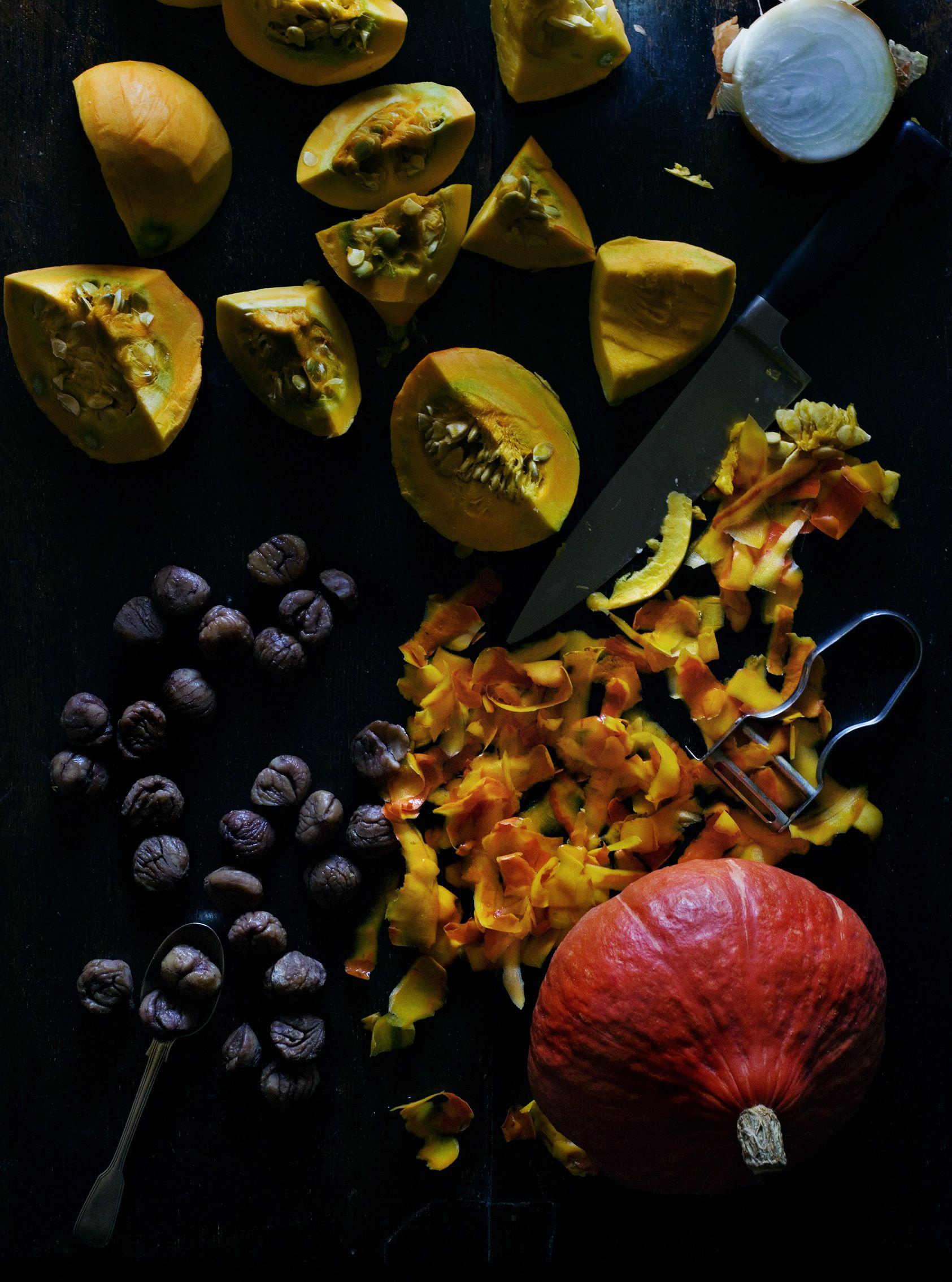 Pumpkin / Image via: Mimi Thorisson #fall #autumn #food #market