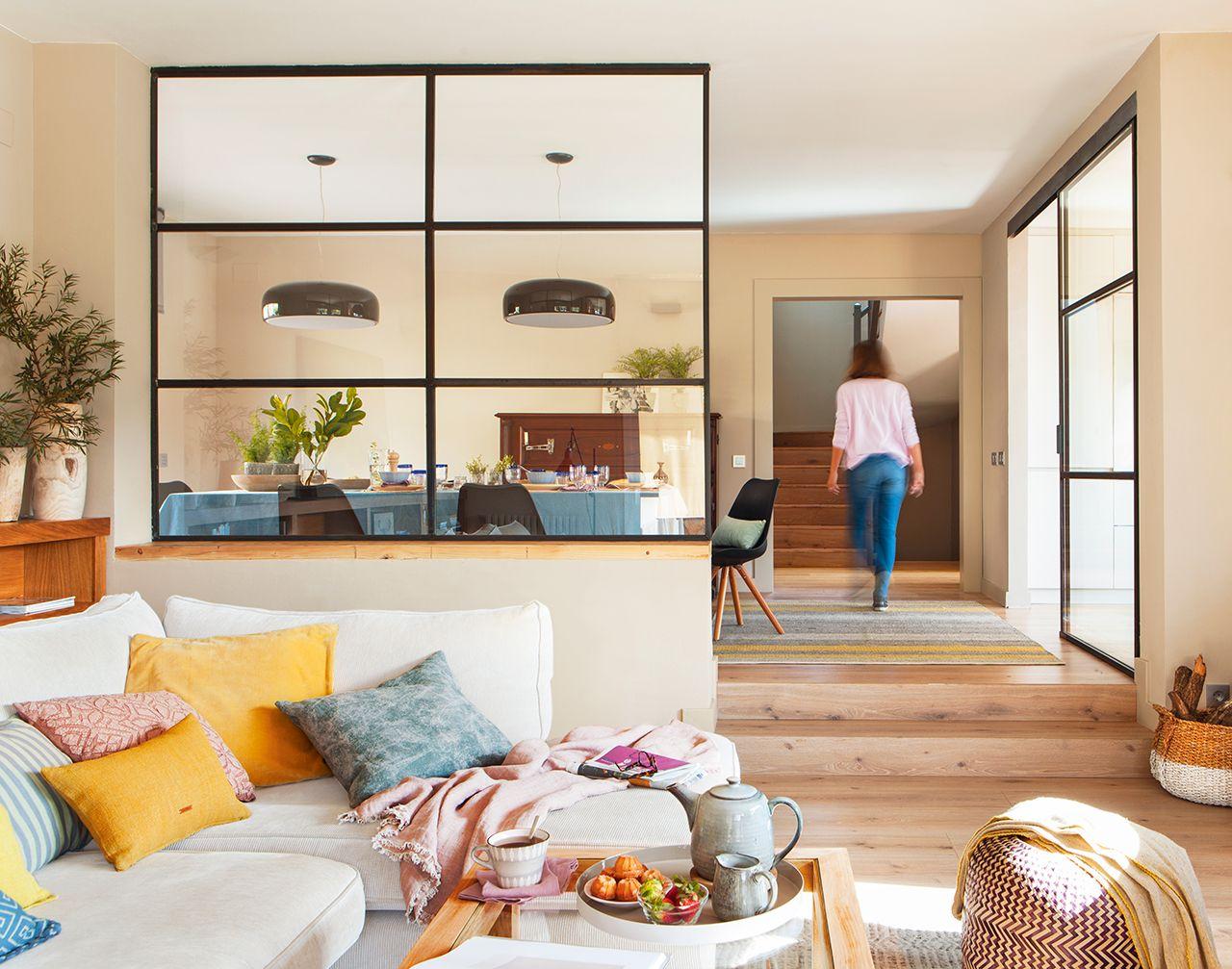 Innenarchitektur wohnzimmer grundrisse estar con chimenea de hierro  cocina lón  pinterest