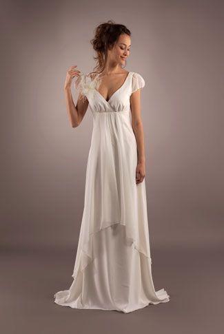 Patron facile robe de mariee