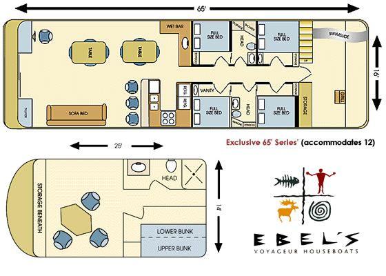 Exclusive 65 39 seriers floor plan ebels voyageur for Minnesota lake home floor plans
