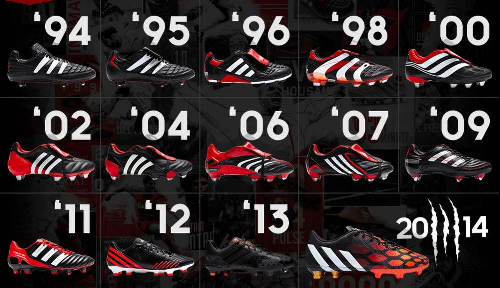 mimar Práctico agenda  Adidas Predator 94 - 2014. Mis preferidos, los del 98 | Botas de fútbol  adidas, Botas de futbol, Guayos adidas