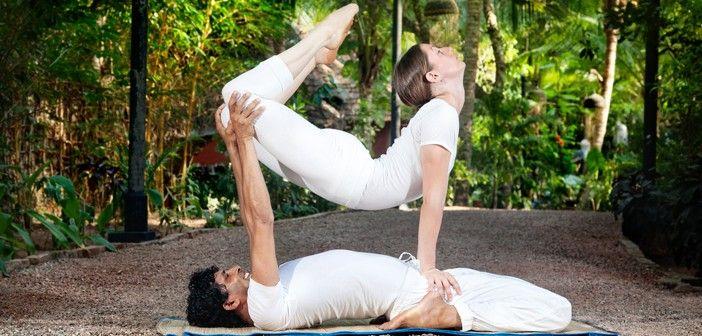 Acroyoga, una disciplina que combina yoga y acrobacias - ¡Siéntete Guapa!