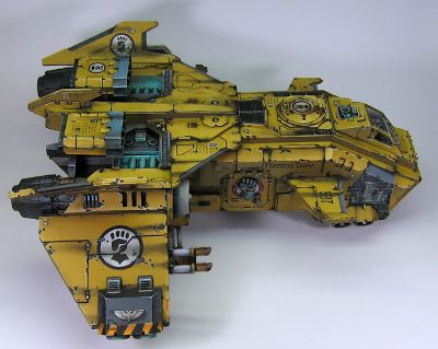Imperial Fists Storm Eagle SIde