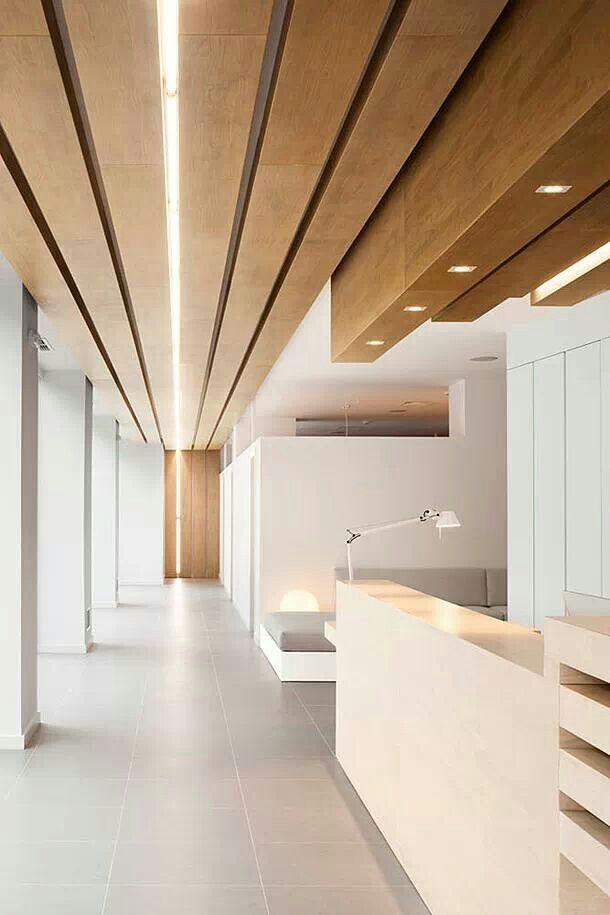Linea de luz Odontologia Pinterest Luces, Oficinas y Plafones - Techos Interiores Con Luces