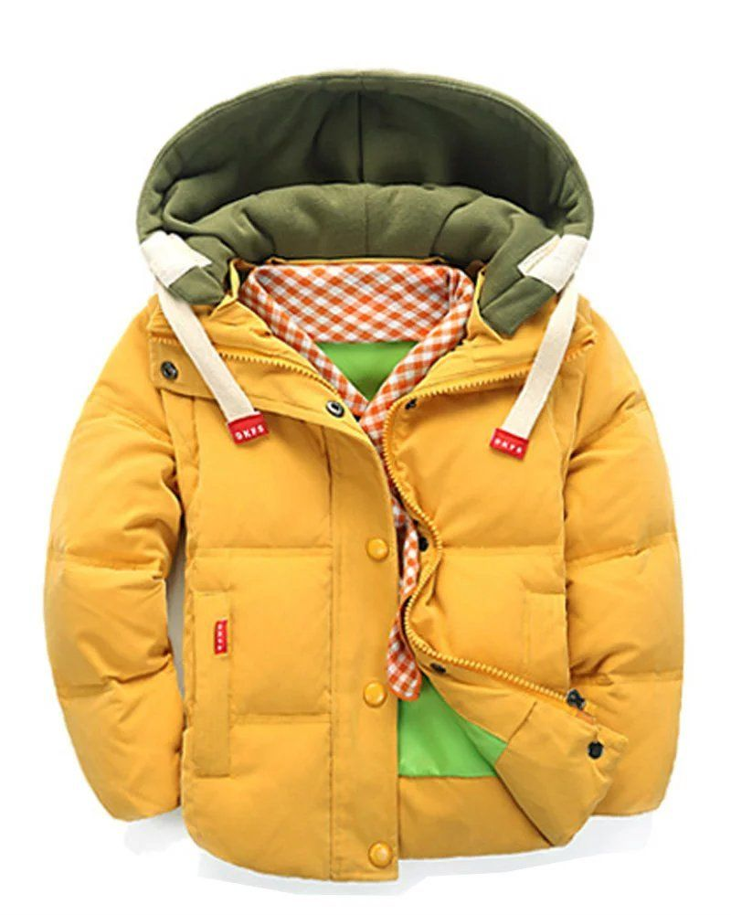 ae700aec8 Gxia Little Boy s Removable Down Coats. Comfortable